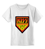 "Детская футболка классическая унисекс ""Kiss Army"" - kiss, kiss army, кисс"