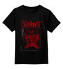 """Детская футболка классическая унисекс """"Slipknot"""" - slipknot, петля, скользящий узел"""