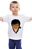 """Детская футболка классическая унисекс """"Мэнни Пакьяо (Pacman)"""" - box, бокс, pacman, manny pacquiao, мэнни пакьяо"""
