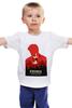 """Детская футболка классическая унисекс """"Bioshock - Букер ДеВитт"""" - плакат, биошок, bioshock"""