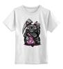 """Детская футболка классическая унисекс """"Rat Skull"""" - skull, череп, death, крыса, rat"""