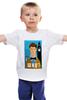 """Детская футболка классическая унисекс """"Доктор Кто (Doctor Who)"""" - doctor who, who, доктор кто"""
