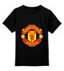 """Детская футболка классическая унисекс """"Manchester United"""" - england, uk, манчестер юнайтед, red devils, football club, футбольный клуб"""