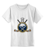 """Детская футболка классическая унисекс """"Buffalo Sabres"""" - спорт, хоккей, nhl, нхл, баффало сейбрз"""