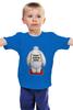 """Детская футболка классическая унисекс """"Теплые обнимашки"""" - дисней, город героев, big hero 6, baymax"""