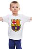 """Детская футболка классическая унисекс """"BARCA"""" - barcelona, барселона, fcb"""