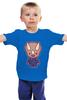 "Детская футболка ""Dino Cop (Kung Fury)"" - кунг фьюри, kung fury"