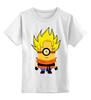 """Детская футболка классическая унисекс """"Миньон Сон Гоку """" - миньон, гадкий я, жемчуг дракона, dragon ball, сон гоку"""