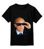 """Детская футболка классическая унисекс """"Pixel Putin"""" - король, pixel, путин, putin, пиксели"""