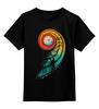 """Детская футболка классическая унисекс """"Длинный путь"""" - арт, абстракция, иллюстрация, длинный путь"""