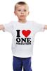 """Детская футболка классическая унисекс """"One Direction"""" - one direction"""
