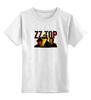 """Детская футболка классическая унисекс """"ZZ Top! """" - крутые, old, blues, zztop, zz, sharp dressed man, ззтоп, старики, мощные"""