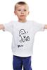 """Детская футболка классическая унисекс """"Чарльз Буковски(Charles Bukowski)"""" - чарльз буковски, charles bukowski"""