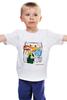 """Детская футболка классическая унисекс """"Warhol - Basquiat"""" - энди уорхол, andy warhol, basquiat, баския"""