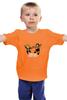 "Детская футболка ""Hulk Hogan x Andre the Giant (Mega Bucks)"" - wwe, 8-bit, халк хоган, андрэ гигант, рэстлинг"