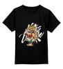 """Детская футболка классическая унисекс """"Natus Vincere (Na'Vi) – Illustration Black"""" - игры, game, зверь, dota, dota 2, navi, natus vincere, monsters, монстры, дота"""