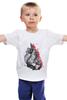 """Детская футболка классическая унисекс """"Арт мир"""" - любовь, арт, heart, сердца"""