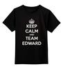 """Детская футболка классическая унисекс """"Edward Snowden"""" - америка, россия, keep calm, edward snowden, эдвард сноуден"""