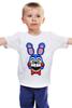 """Детская футболка классическая унисекс """"Toy Bonnie (Пять ночей у Фредди)"""" - пять ночей у фредди, five nights at freddy's, toy bonnie"""
