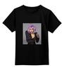 """Детская футболка классическая унисекс """"Lady Gaga"""" - lady gaga, леди гага, кумир, знаменитость"""