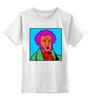 """Детская футболка классическая унисекс """"Пушкин"""" - пушкин, литература, знаменитость, наше всё, русский язык"""