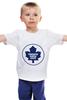 """Детская футболка классическая унисекс """"Торонто Мэйпл Лифс """" - хоккей, nhl, нхл, toronto maple leafs, торонто мэйпл лифс"""