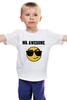 """Детская футболка классическая унисекс """"Mister Awesome"""" - прикольная, крутой, крутая, классный, awesome, мистер"""