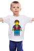 """Детская футболка классическая унисекс """"Марти Макфлай (Назад в Будущее)"""" - назад в будущее, back to the future, marty mcfly, марти макфлай"""