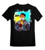 """Детская футболка классическая унисекс """"Борода Моряк """" - роза, тату, татуировки, моряк, мотроска"""