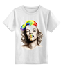"Детская футболка классическая унисекс ""Marilyn Monroe"" - мэрилин монро, marilyn monroe"