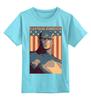"""Детская футболка классическая унисекс """"Captain America"""" - мужская, супергерой, superhero, капитан америка"""