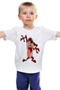 "Детская футболка классическая унисекс ""Taazzzzz"" - таз, луни тьюнс, tasmanian devil, тасманский дьявол"