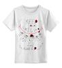"""Детская футболка классическая унисекс """"keep your smiling sheep"""" - новый год, new year, год овцы, sheep, 2015"""