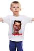 "Детская футболка классическая унисекс ""Comedy Club"" - юмор, карикатура, камеди клаб, comedy club, гарик бульдог харламов"