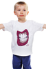 """Детская футболка классическая унисекс """"swagswag"""" - white, зубы, lips, swag, fresh, teeth, grrr, swagger"""
