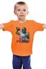 "Детская футболка классическая унисекс ""Зомби Спорт - Я люблю Спорт"" - zombie, зомби, зомби спорт, i love sport, я люблю спорт"
