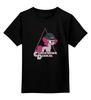 """Детская футболка классическая унисекс """" Clockwork Pinkie """" - clockwork orange, pony, mlp, пони, hasbro"""
