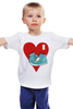 """Детская футболка классическая унисекс """"Я люблю кеды!"""" - любовь, арт, style, кеды, nopperapon, keds, kicks"""