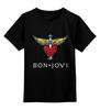 """Детская футболка классическая унисекс """"Bon Jovi"""" - bon jovi, бон джови"""