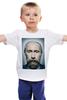 """Детская футболка классическая унисекс """"Путинизм"""" - царь, king, путин, борода, putin, beard, путинизм"""