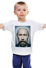 "Детская футболка ""Путинизм"" - царь, king, путин, борода, putin, beard, путинизм"