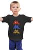 "Детская футболка ""Space invaders                  "" - space invaders, пиксель арт, pixel art"