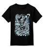 "Детская футболка классическая унисекс ""Art Horror"" - skull, череп, zombie, зомби, evil"