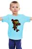 """Детская футболка классическая унисекс """"Бомбермэн (Bomberman)"""" - железный человек, iron man"""