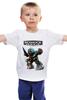 """Детская футболка классическая унисекс """"Bioshock (logo)"""" - игры, game, биошок, bioshock, big daddy, rapture, video games"""