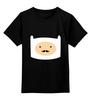 """Детская футболка классическая унисекс """"Adventure Time"""" - adventure time, усы, время приключений, finn, финн"""