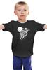 """Детская футболка классическая унисекс """"Dead Space"""" - skull, череп, космос, смерть, dead space"""