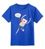 """Детская футболка классическая унисекс """"Я моряк"""" - adventure time, время приключений, jake, finn"""