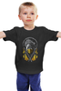 "Детская футболка классическая унисекс ""Скорпион (Мортал Комбат)"" - скорпион, смертельная битва, мортал комбат, мк, фаталити"