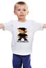 "Детская футболка ""Heisenberg (8-bit)"" - во все тяжкие, pixel art, пиксели, breaking bad, хайзенберг"